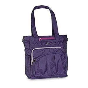 Lug Ace Tote - Concord Purple with Gray Accent